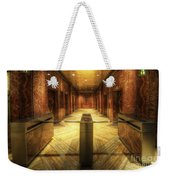 Chrysler Building Elevator Lobby Weekender Tote Bag