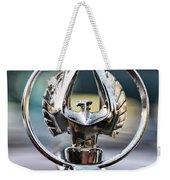 Chrysler Imperial Hood Ornament Weekender Tote Bag
