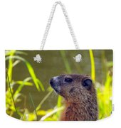 Chucky Woodchuck Weekender Tote Bag
