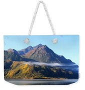 Chugach Mountains Weekender Tote Bag