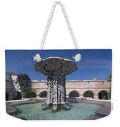 Church And Convent Garden Weekender Tote Bag