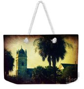 Church At Fort Moultrie Near Charleston Sc Weekender Tote Bag