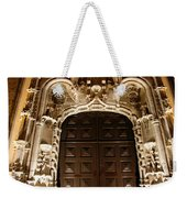Church At Night Weekender Tote Bag