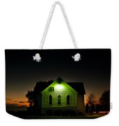 Church At Sunset Weekender Tote Bag
