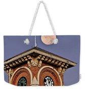 Church Bell Tower Weekender Tote Bag