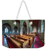 Church Benches Weekender Tote Bag