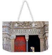 Church Entrance Arles France Weekender Tote Bag