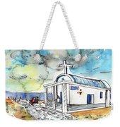 Church In Cape Gkreko In Cyprus Weekender Tote Bag