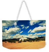 Church In Old Tuscon Arizona Weekender Tote Bag