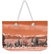 Church In The Mountains Weekender Tote Bag