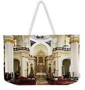 Church Interior In Puerto Vallarta Weekender Tote Bag