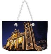Church Lighting At Night Weekender Tote Bag