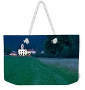 Church Of The Annunciation At Dusk Weekender Tote Bag