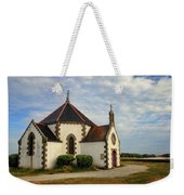 Church Off The Brittany Coast Weekender Tote Bag