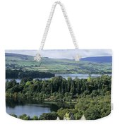Church On A Landscape, Ballindoon Weekender Tote Bag