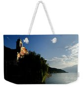 Church On The Lake Front Weekender Tote Bag
