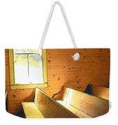 Church Pews - Light Through Window Weekender Tote Bag