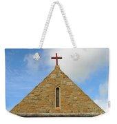 Church Top Weekender Tote Bag