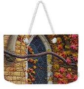 Church Window Autumn Weekender Tote Bag