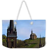Churches Of Lorchhausen - Color Weekender Tote Bag