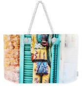Cigar Store Indian - New Orleans Weekender Tote Bag
