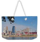 Cincinnati Panorama Weekender Tote Bag