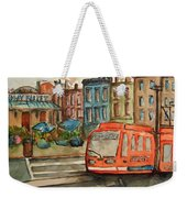 Cincinnati Streetcar Weekender Tote Bag