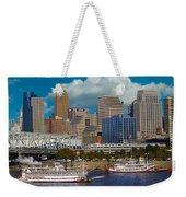 Cincinnati Tall Stacks  Weekender Tote Bag