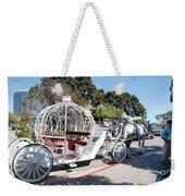 Cinderella Carriage Weekender Tote Bag