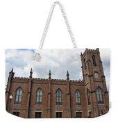Circa 1818 Gothic 1st Presbyterian Church Huntsville Alabama Usa Weekender Tote Bag