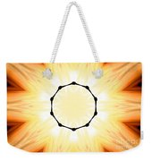 Circle Of Light Weekender Tote Bag