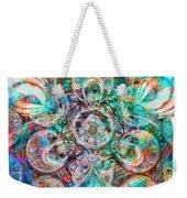 Circles Of Life Weekender Tote Bag by Mo T