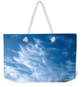 Cirrus Cloud Weekender Tote Bag