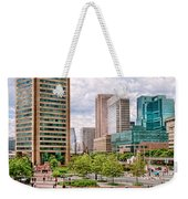 City - Baltimore Md - Harbor Place - Baltimore World Trade Center  Weekender Tote Bag
