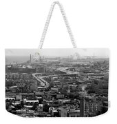 City By The Bay Weekender Tote Bag by Valeria Donaldson