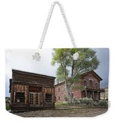 City Drug Store And Hotel Meade - Bannack Montana Ghost Town Weekender Tote Bag