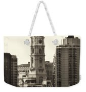 City Hall From The Parkway - Philadelphia Weekender Tote Bag