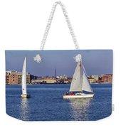 City Harbor Sailing Weekender Tote Bag