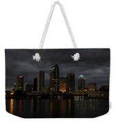 City In The Storm Weekender Tote Bag