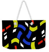City Lights Abstract Weekender Tote Bag