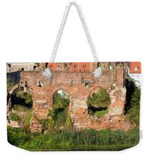 City Of Gdansk In Poland Weekender Tote Bag