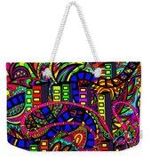City Of Life Weekender Tote Bag
