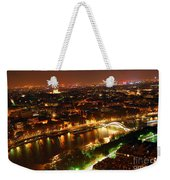 City Of Light Weekender Tote Bag by Elena Elisseeva