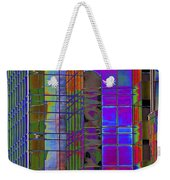 City Windows Abstract Pop Art Colors Weekender Tote Bag
