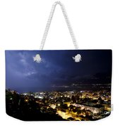 Cityscape At Night Weekender Tote Bag