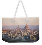 Cityscape, Florence, Italy Weekender Tote Bag