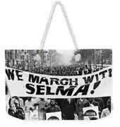 Civil Rights March, 1965 Weekender Tote Bag