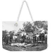 Civil War Burial, 1864 Weekender Tote Bag