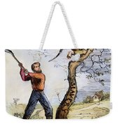 Civil War Cartoon, 1862 Weekender Tote Bag