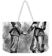 Civil War: Cartoon, 1865 Weekender Tote Bag